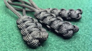 Zipper Pull set Black